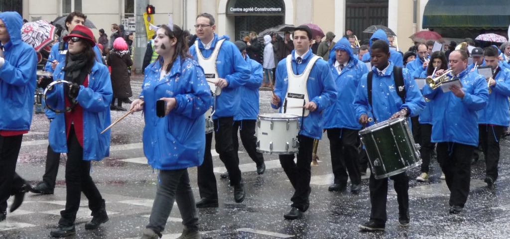 Carnaval 2015 Défilé sous la pluie