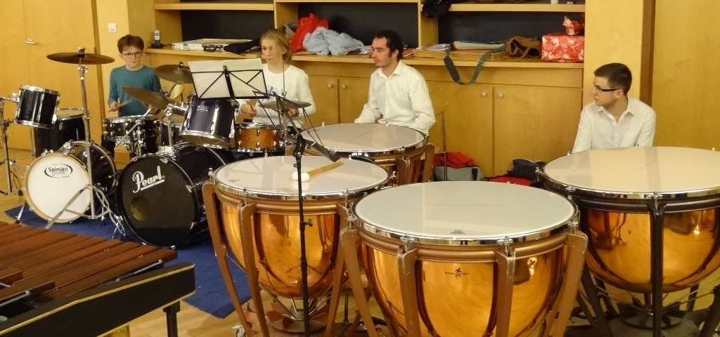 Classe d'orchestre percussions