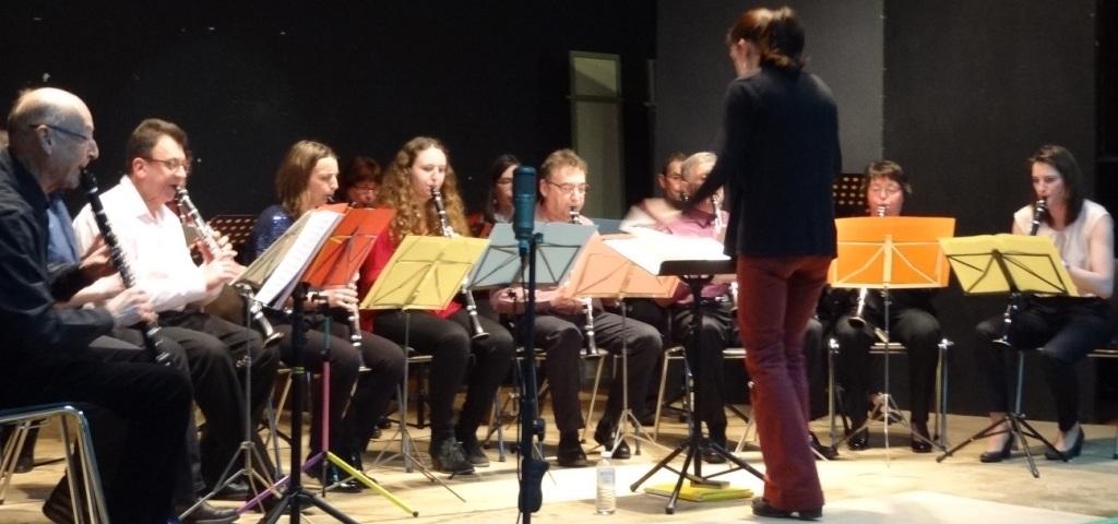 Ensemble de Clarinettes en concert