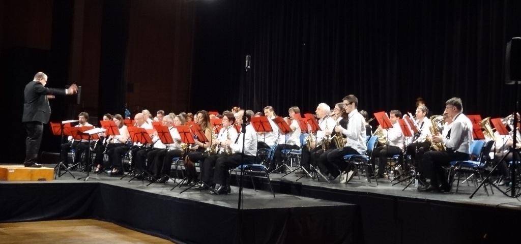 Concert 13 fevrier 2016 Jean Moulin Concert de l'Harmonie