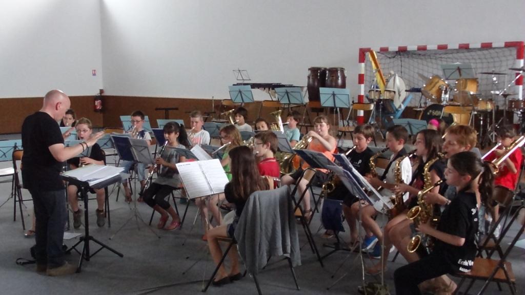 l'orchestre à l'école