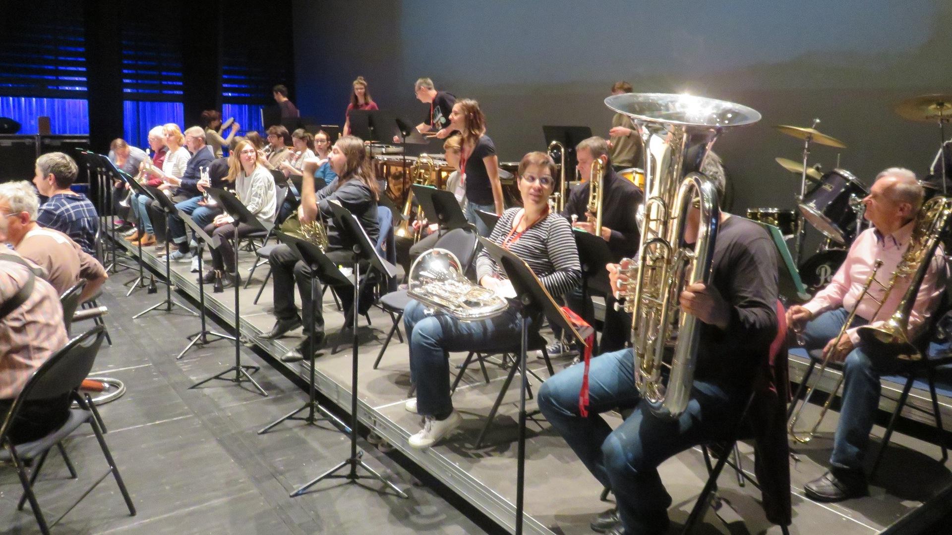 Répétition de l'Orchestre